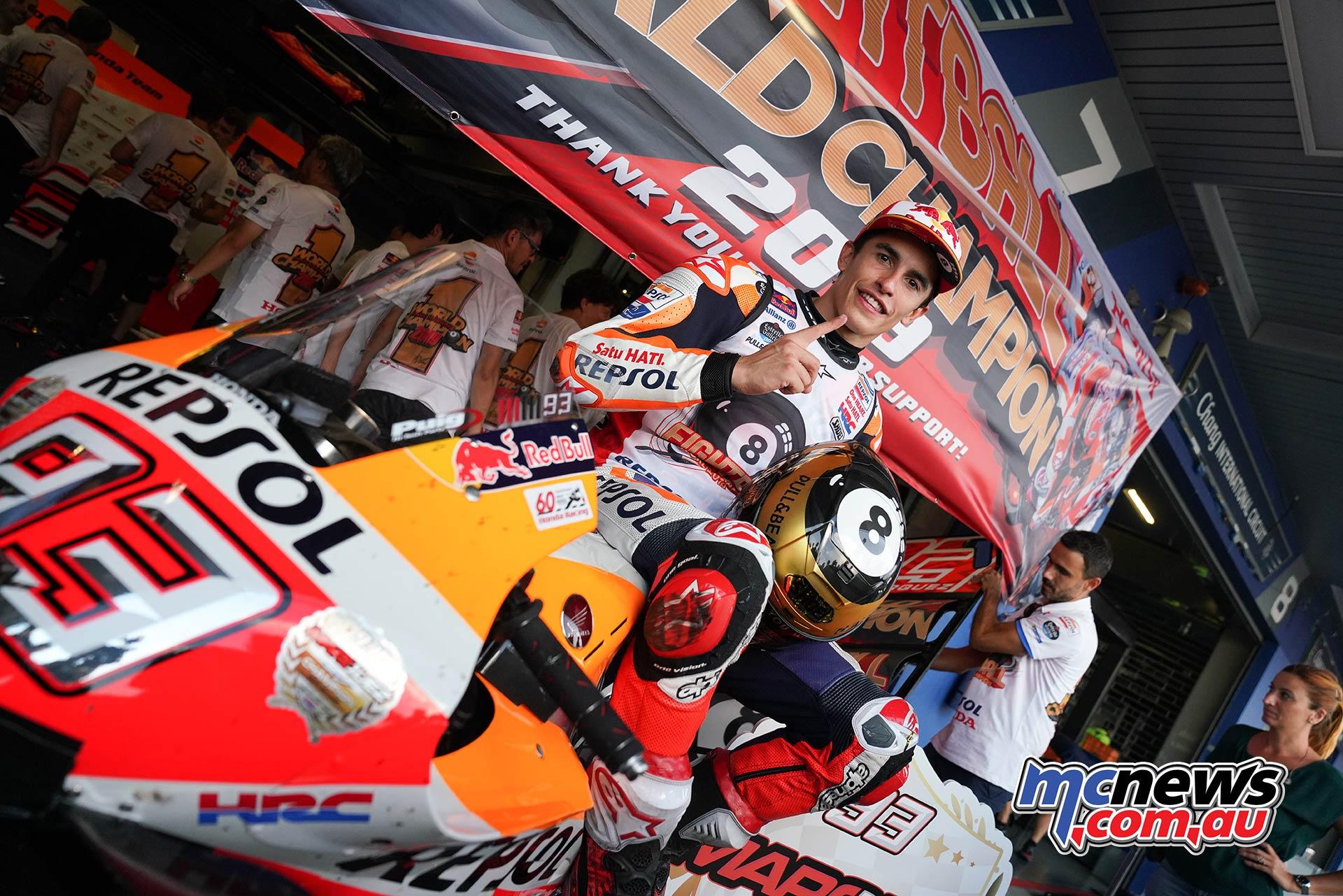 MotoGP Rnd Thailand Race Marquez Bike