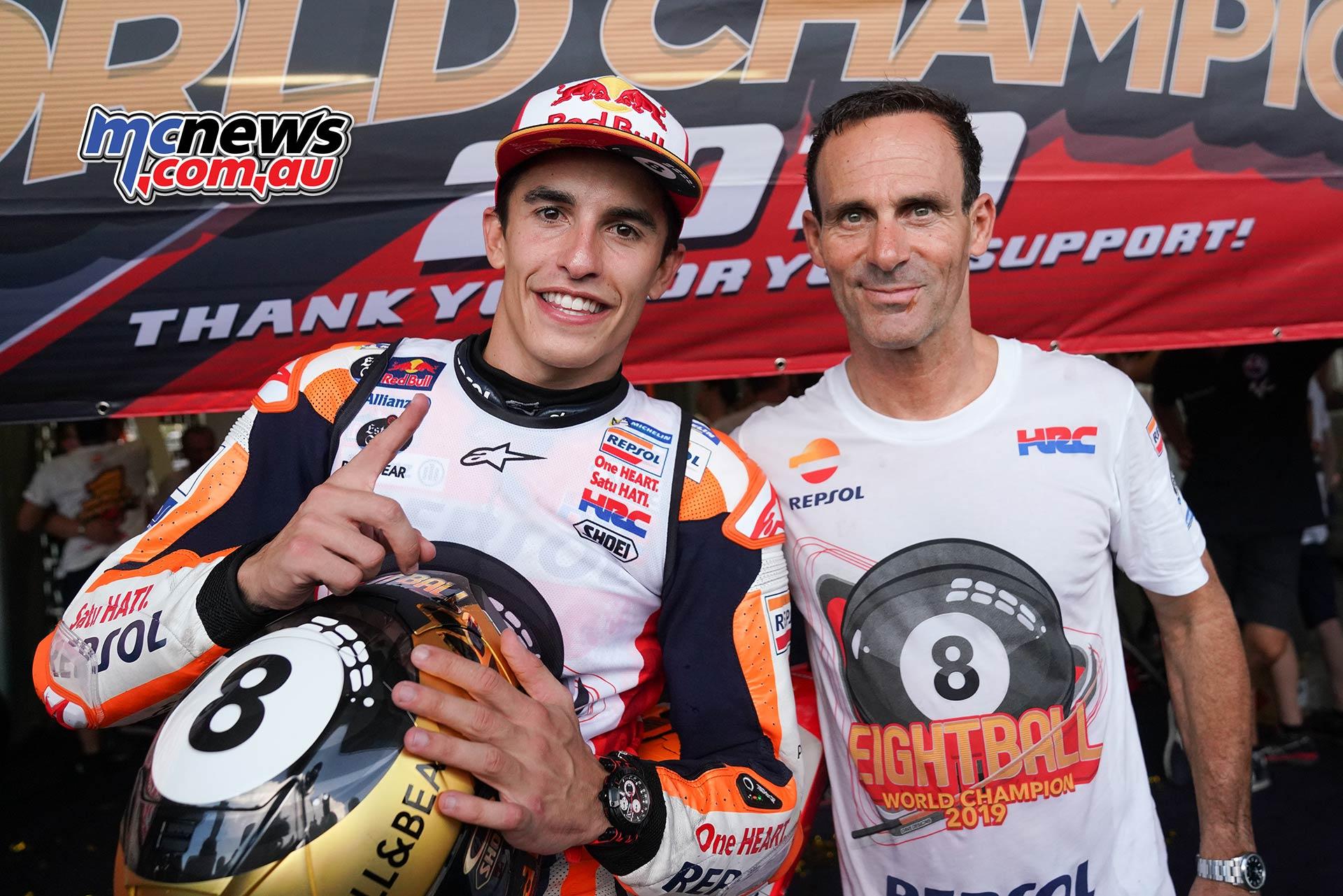 MotoGP Rnd Thailand Race Marquez Puig