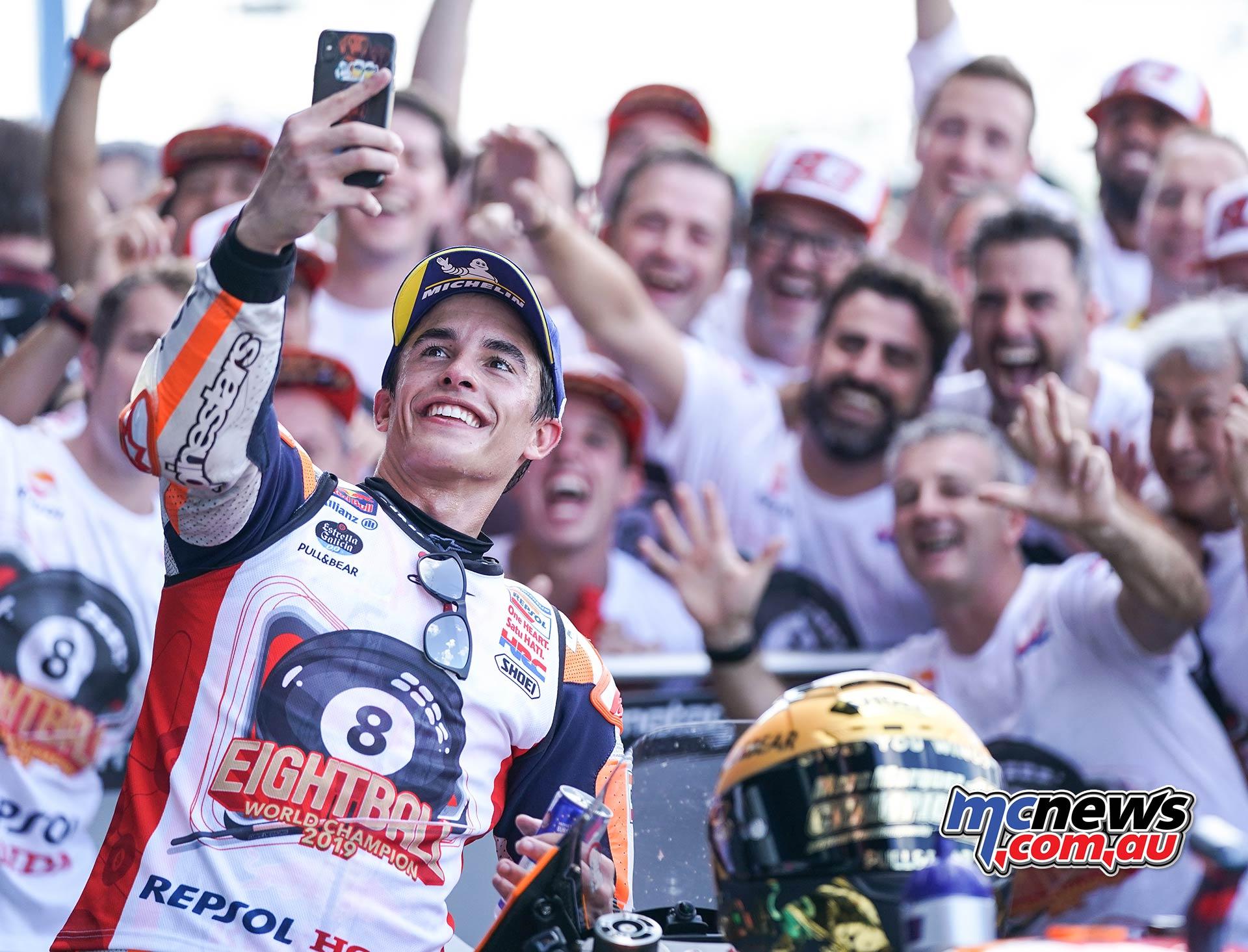 MotoGP Rnd Thailand Race Marquez Selife