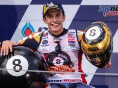 MotoGP Rnd Thailand Race Marquez Shoei Ball