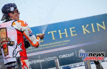 MotoGP Rnd Thailand Race Marquez TheKing