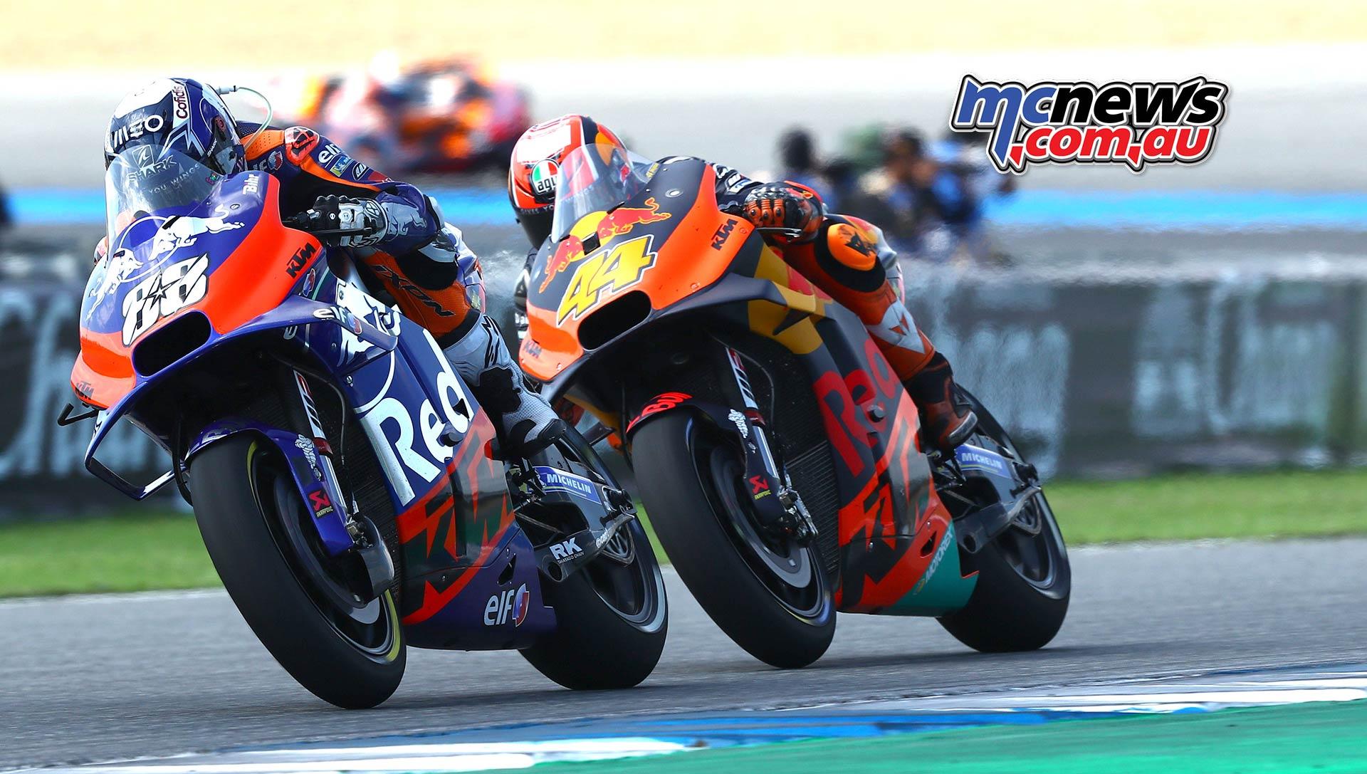 MotoGP Rnd Thailand Race Miguel OIiveira