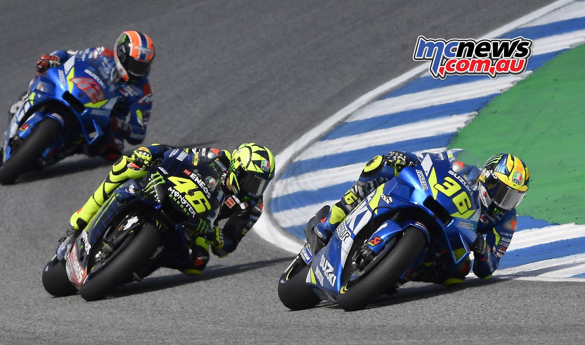MotoGP Rnd Thailand Race Mir