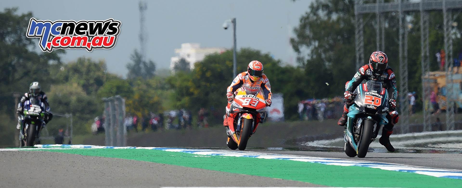 MotoGP Rnd Thailand Race Quartararo Marquez