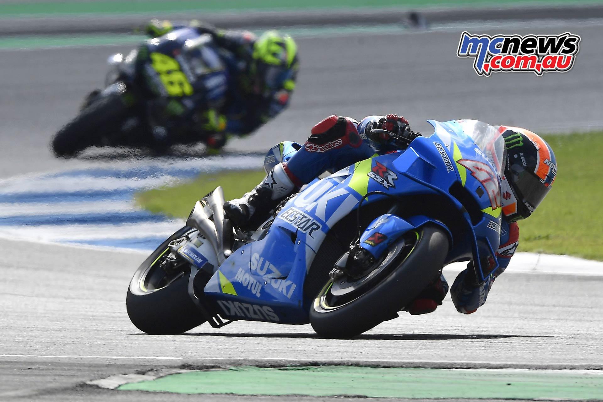 MotoGP Rnd Thailand Race Rins