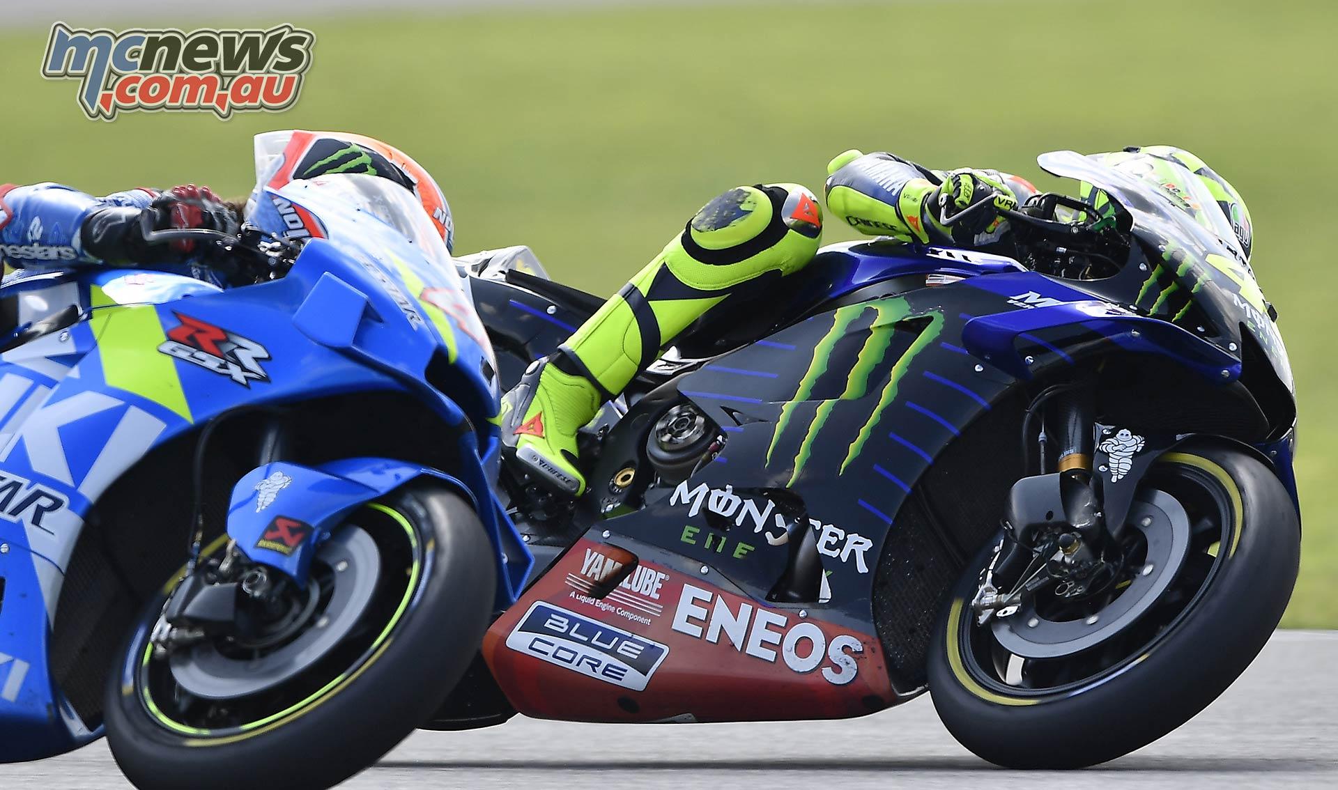 MotoGP Rnd Thailand Race Rossi Rins