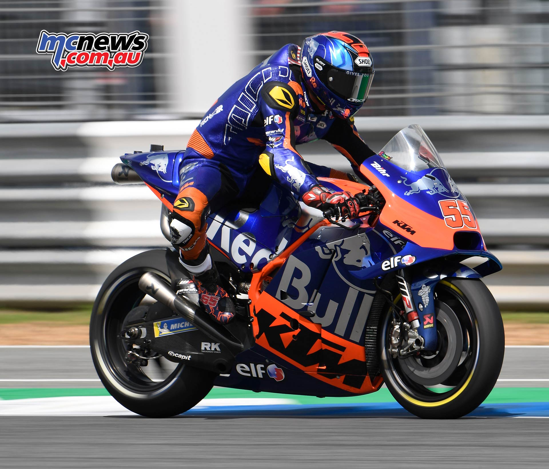MotoGP Rnd Thailand Race Syahrin