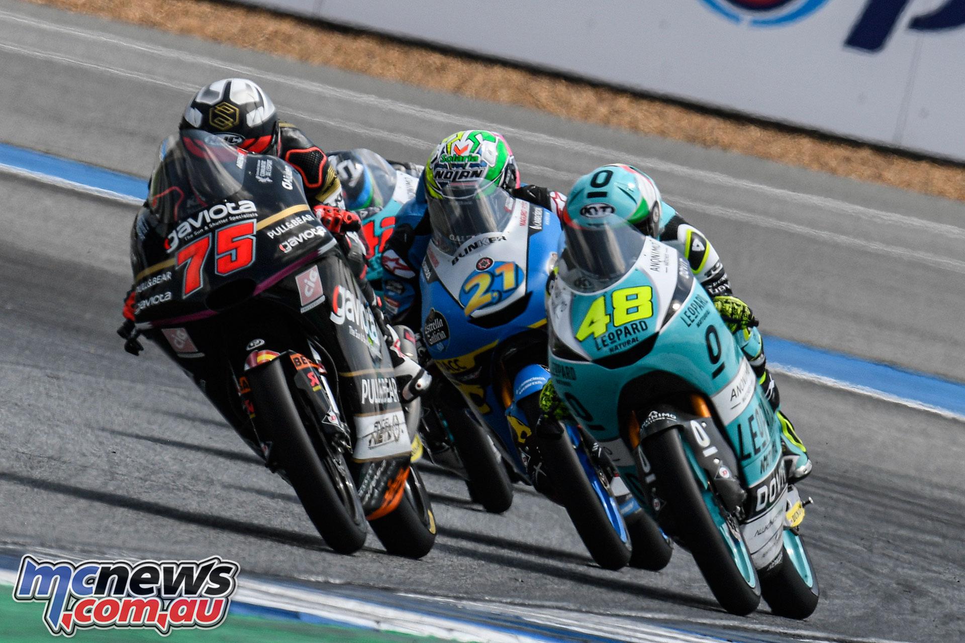 MotoGP Thailand Rnd Sun Albert Arenas Moto