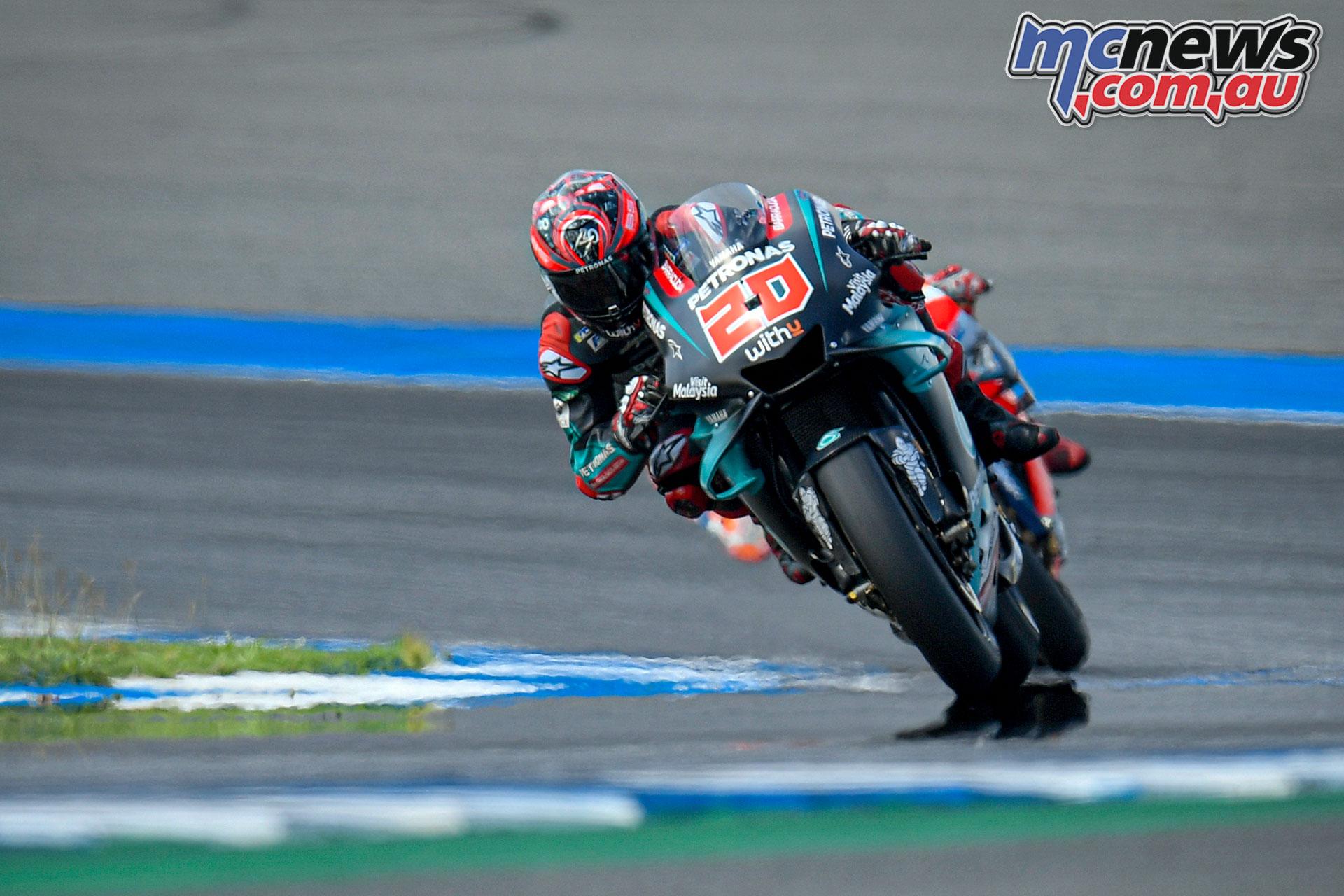 MotoGP Thailand Rnd Sun Quartararo