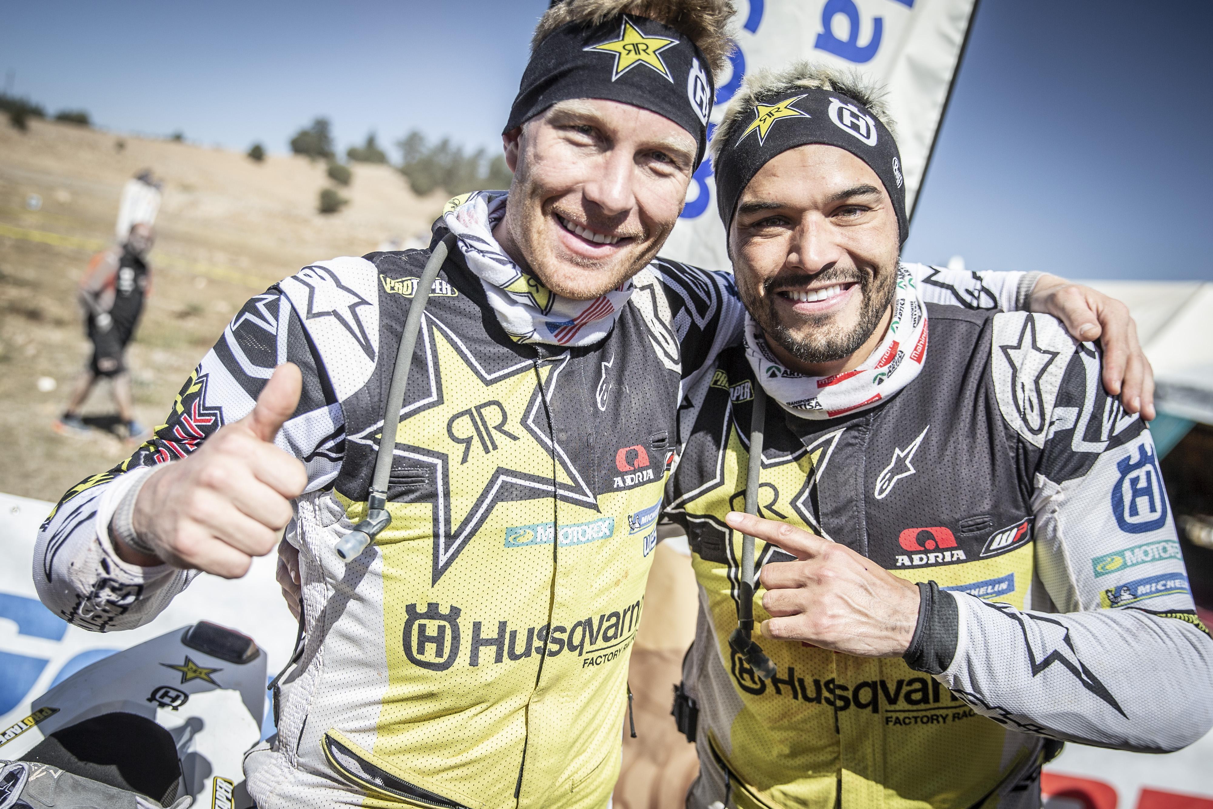 Rally du Maroc Andrew Short Pablo Quintanilla Husqvarna Factory Racing