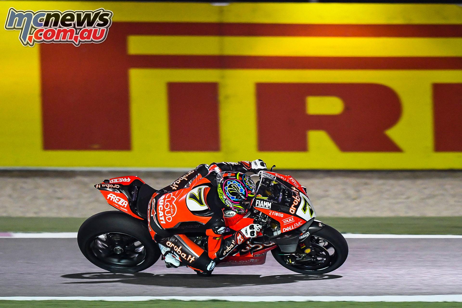 WSBK Rnd Qatar Chaz Davies
