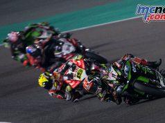 WSBK Rnd Qatar Sat Race Rea CQ