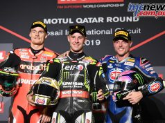 WSBK Rnd Qatar WorldSBK Race podium