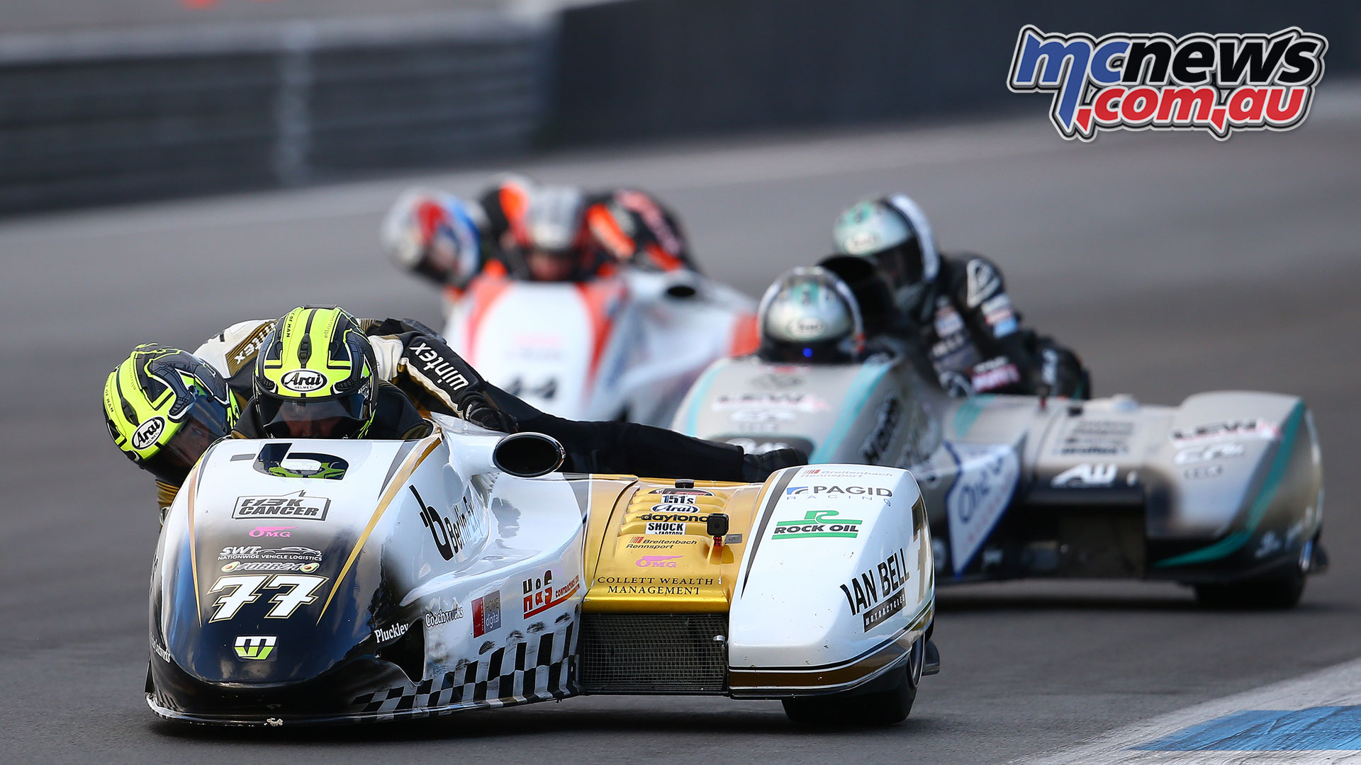 World Sidecar Championship Final Tim Reeves Mark Wilkes