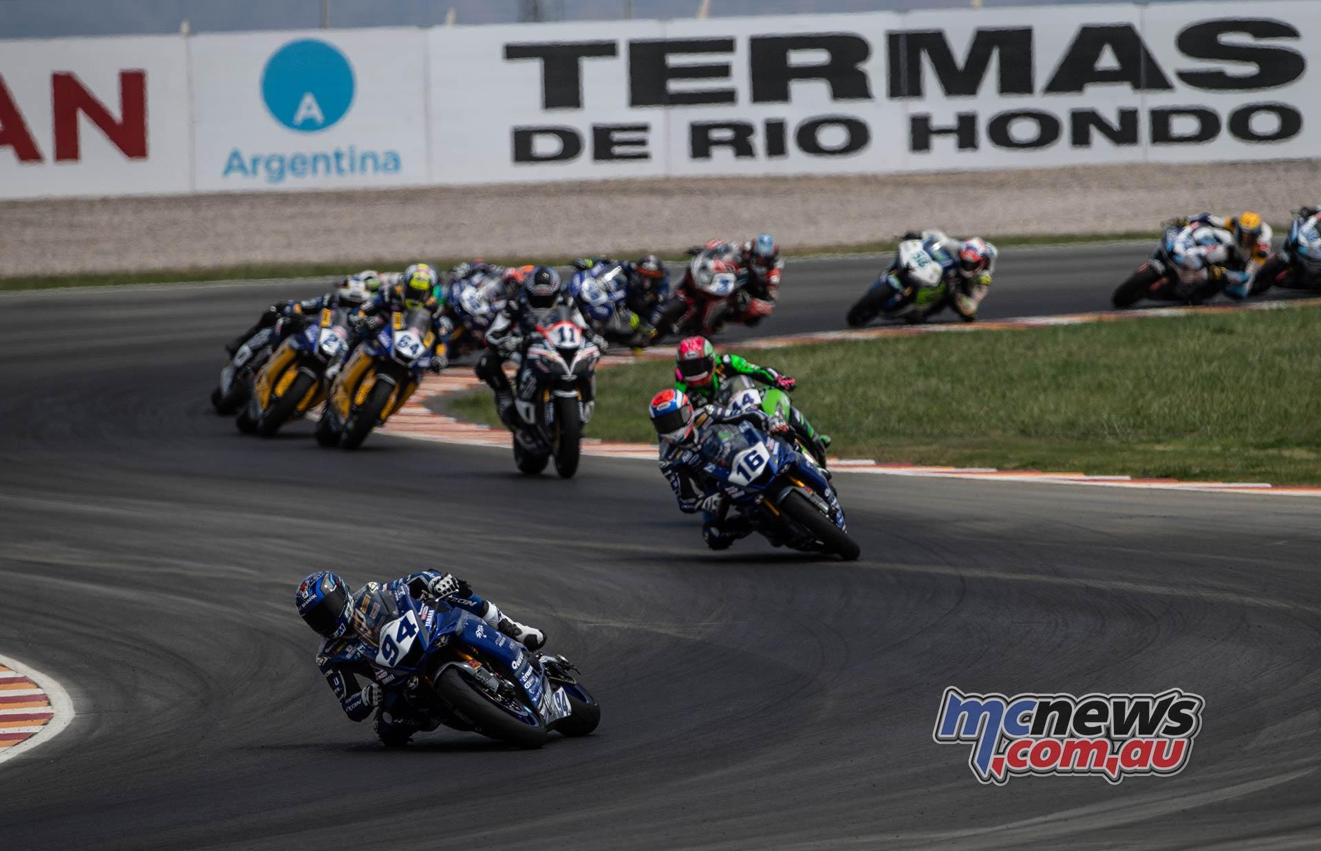 WorldSBK Argentina Day Supersport Perolari