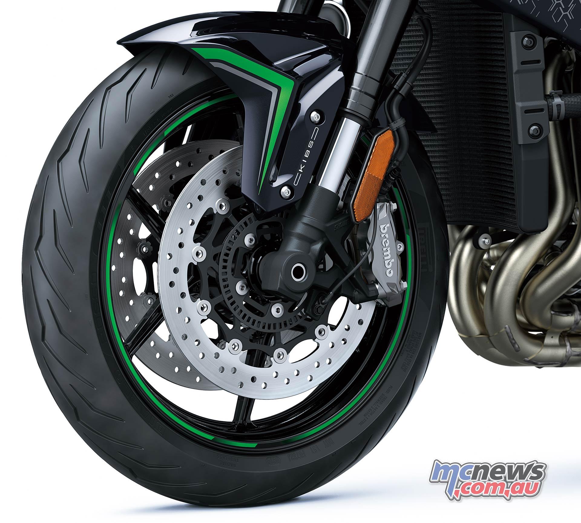 Kawasaki Z H Brakes