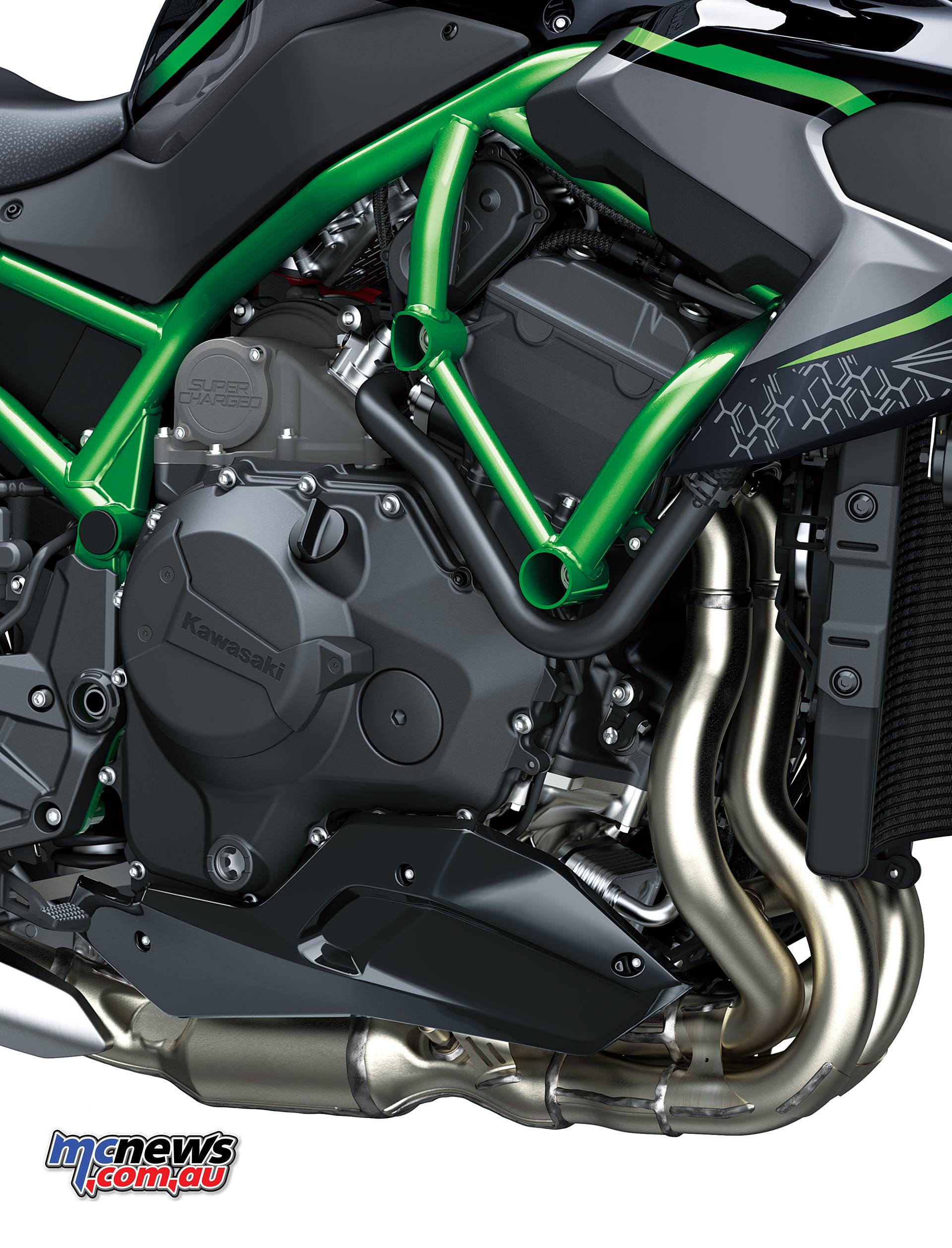 Kawasaki Z H Engine