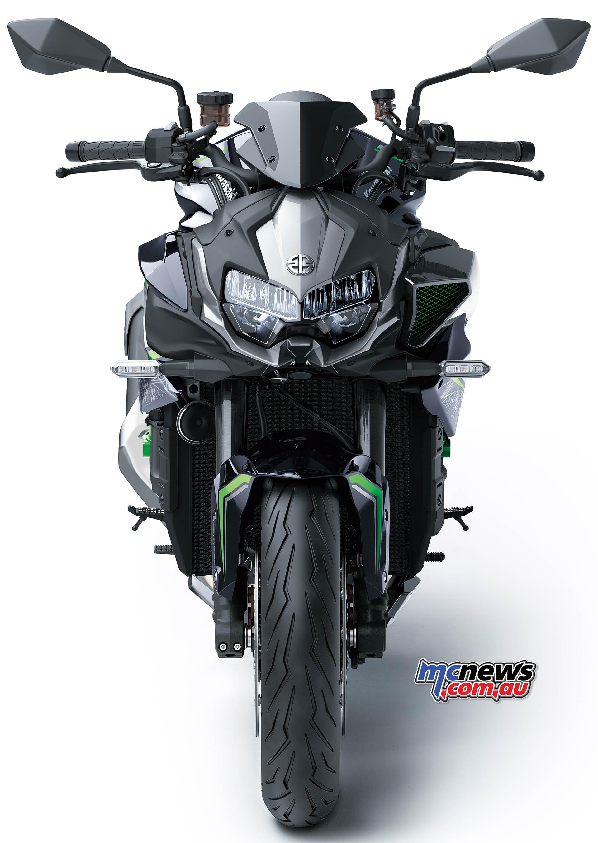 Kawasaki Z H Front