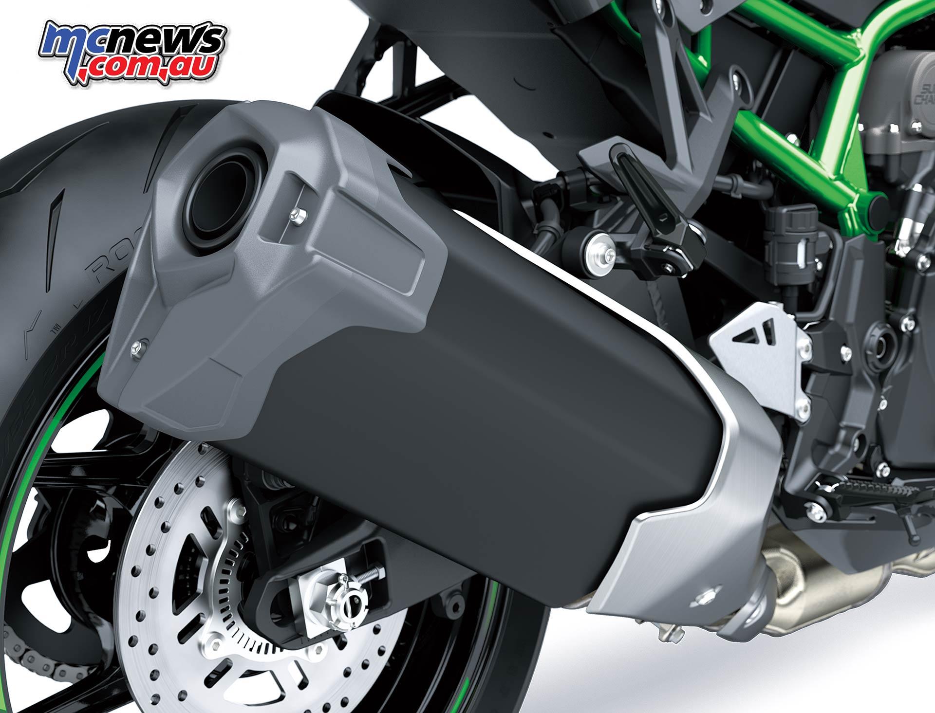 Kawasaki Z H Muffler