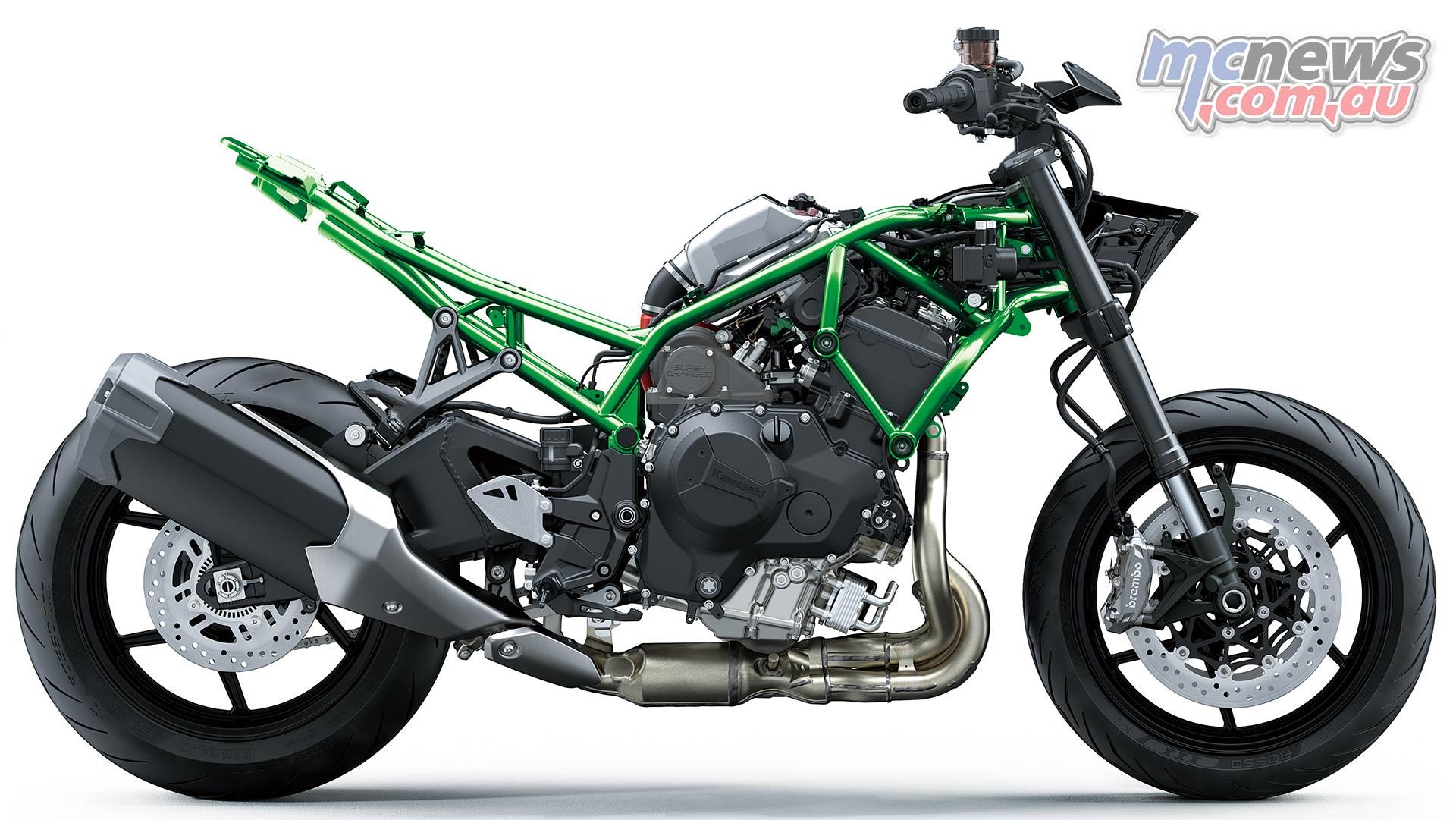 Kawasaki Z H Stripped