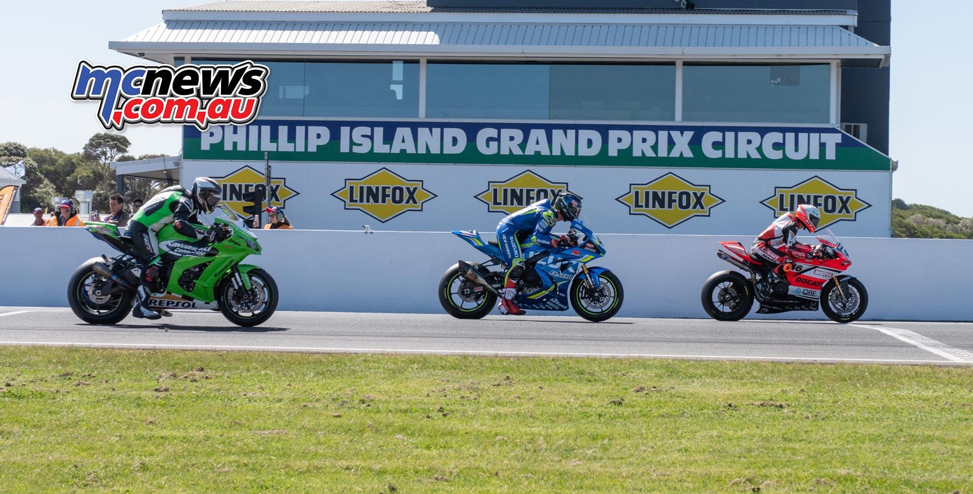 ASBK Rnd Phillip Island RbMotoLens SBK R Start