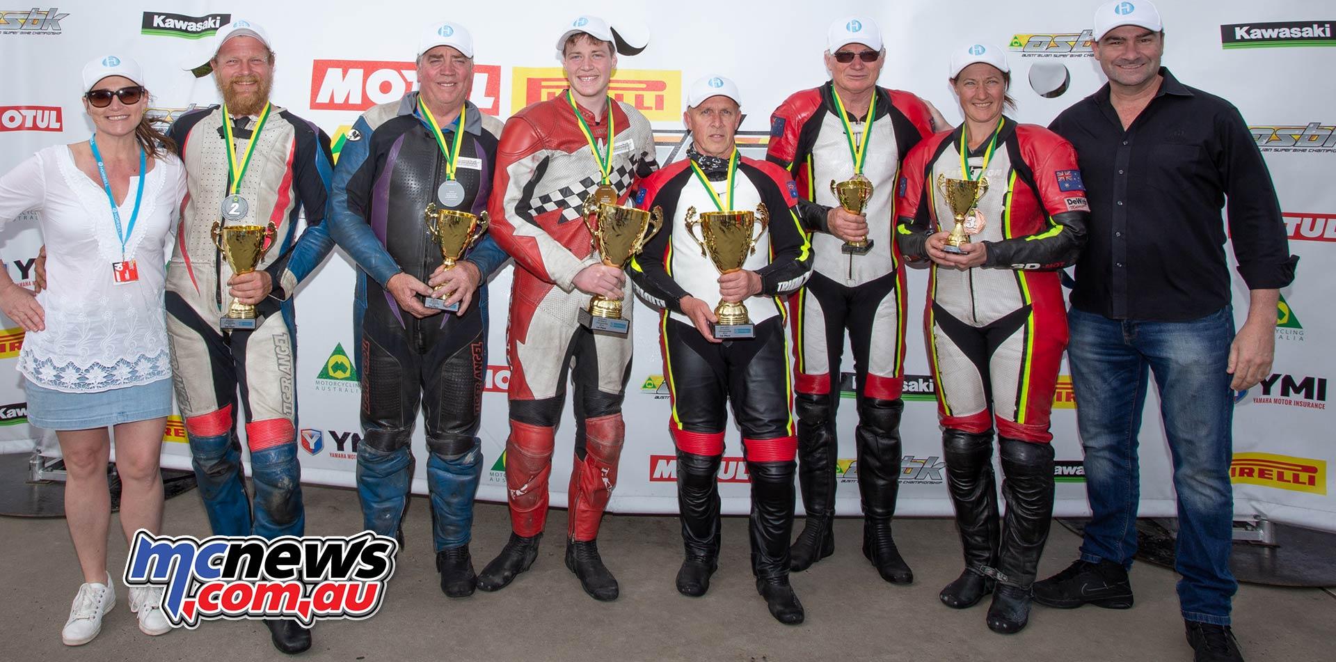 ASBK TBG Round Phillip Island F Sidecars Champions TBG Sunday