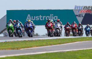 ASBK TBG Round Phillip Island SBK Race Start TBG Sunday