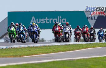 ASBK TBG Round Phillip Island SBK Race Start TBG Sunday