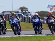 ASBK TBG Round Phillip Island SS Race Start TBG Sunday