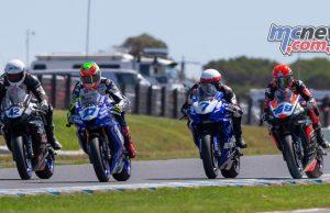 ASBK TBG Round Phillip Island SS Race Start TBG Sunday