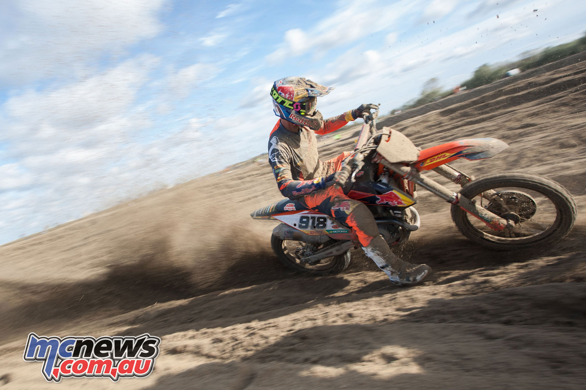 Camille Chapeliere Red Bull KTM Factory Racing Loon Plage Beach Race