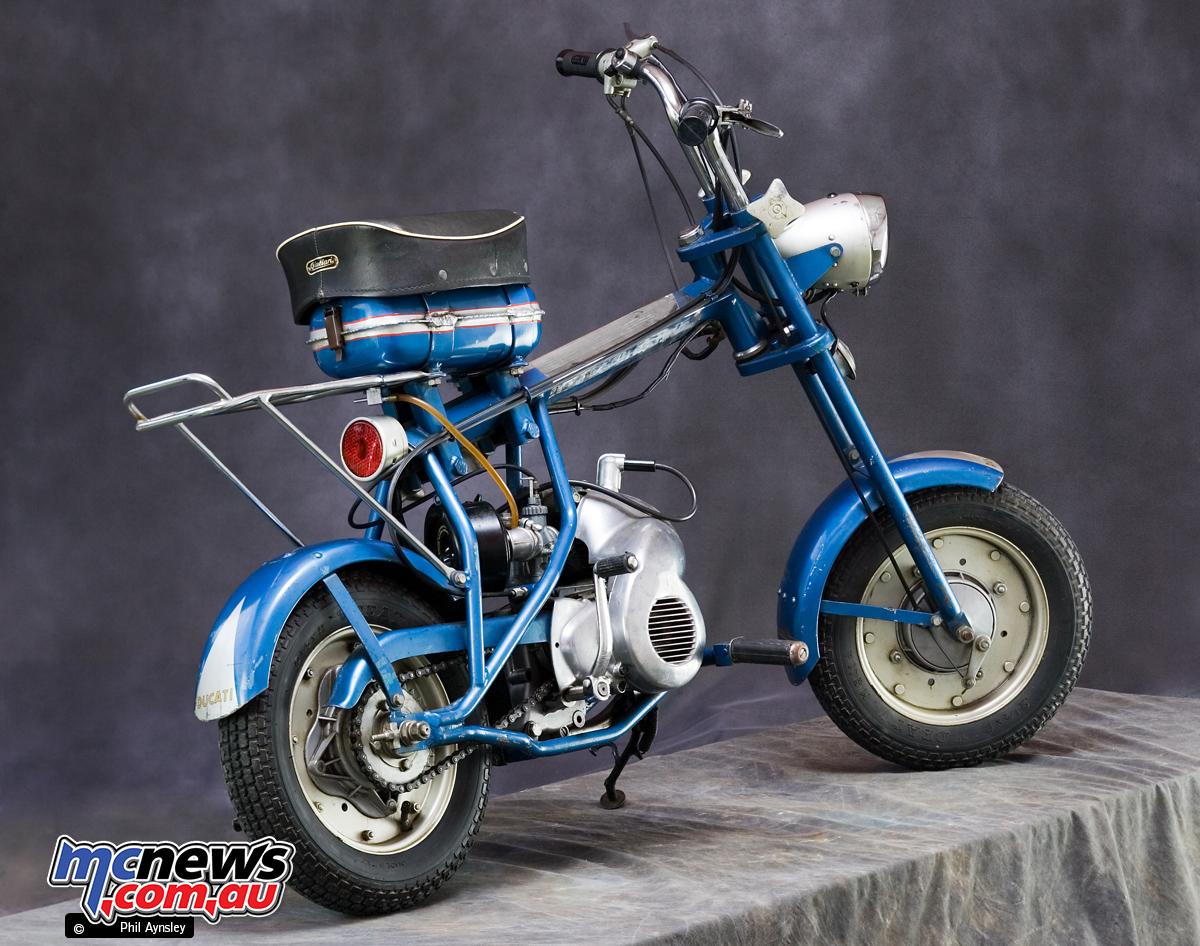 Ducati Minbike Folding PA MO Scooter