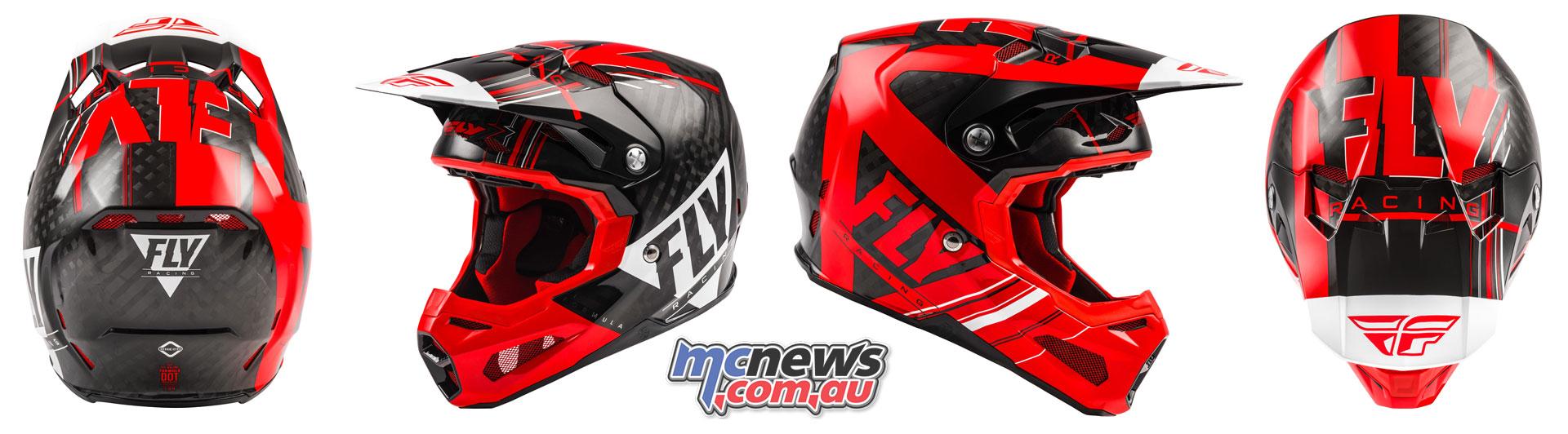 Fly Racing Helmet Formula Vector
