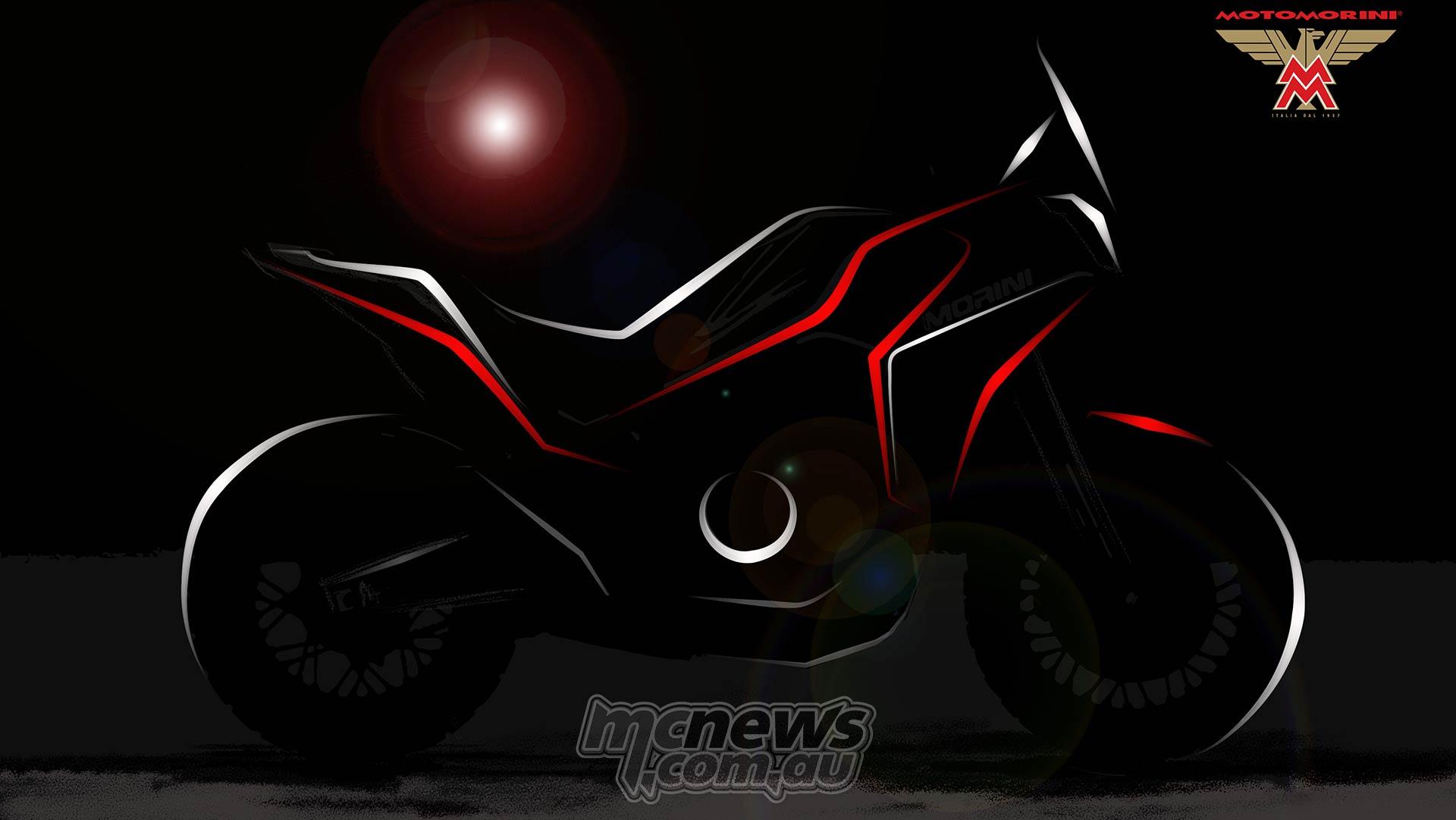 Moto Morini Adventure Silhouette