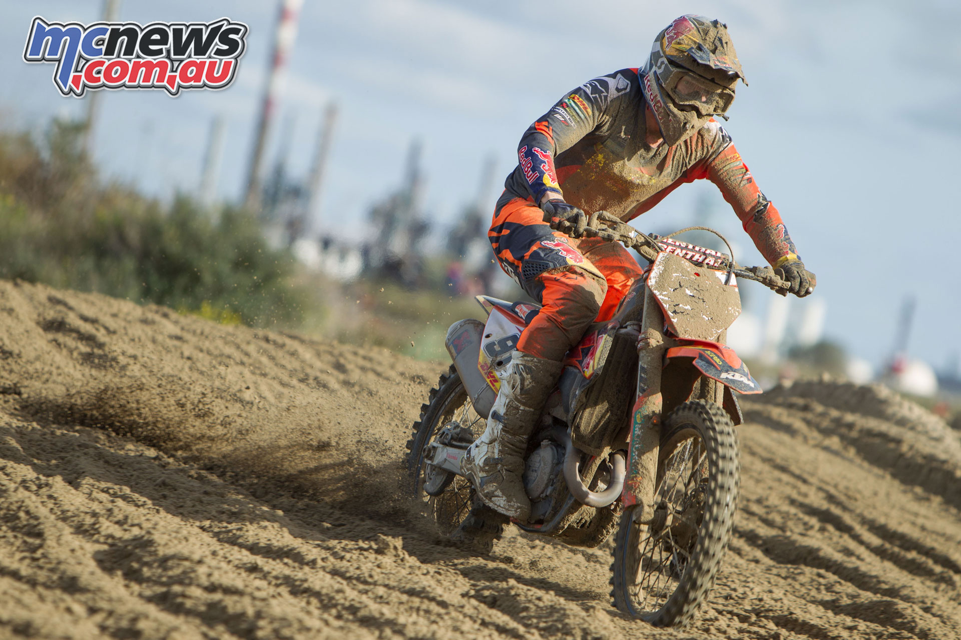 Nathan Watson Red Bull KTM Factory Racing Loon Plage Beach Race