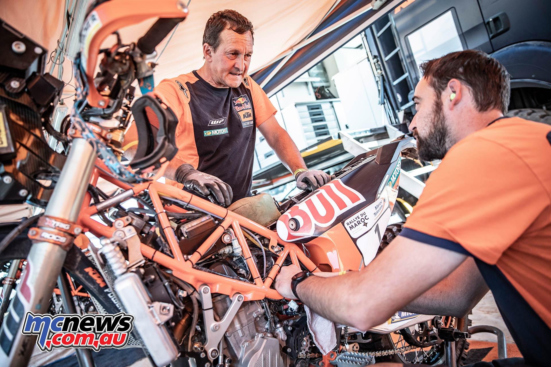 Rallye du Maroc KTM Service