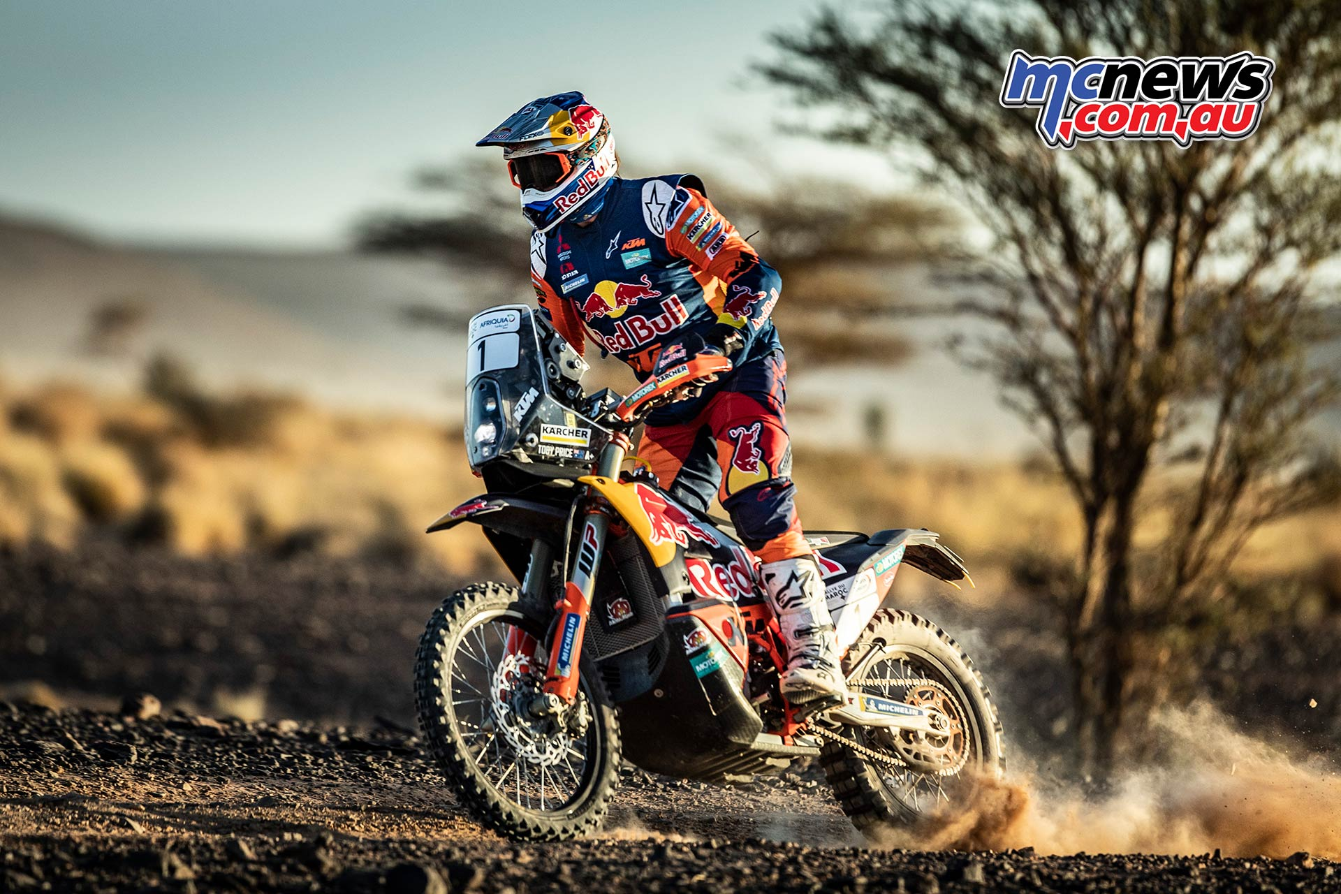 Rallye du Maroc Toby Price