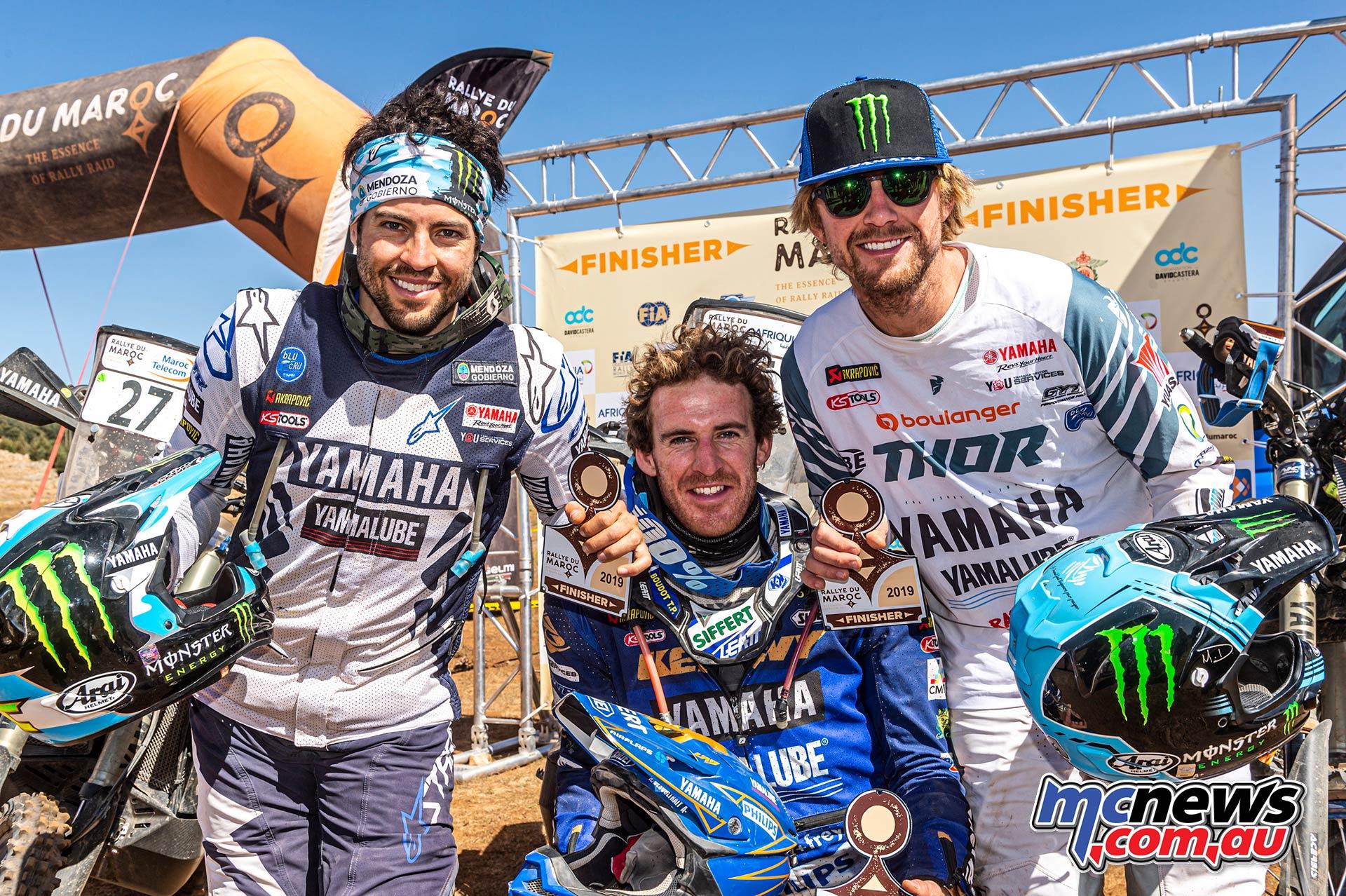 Rallye du Maroc Yamaha