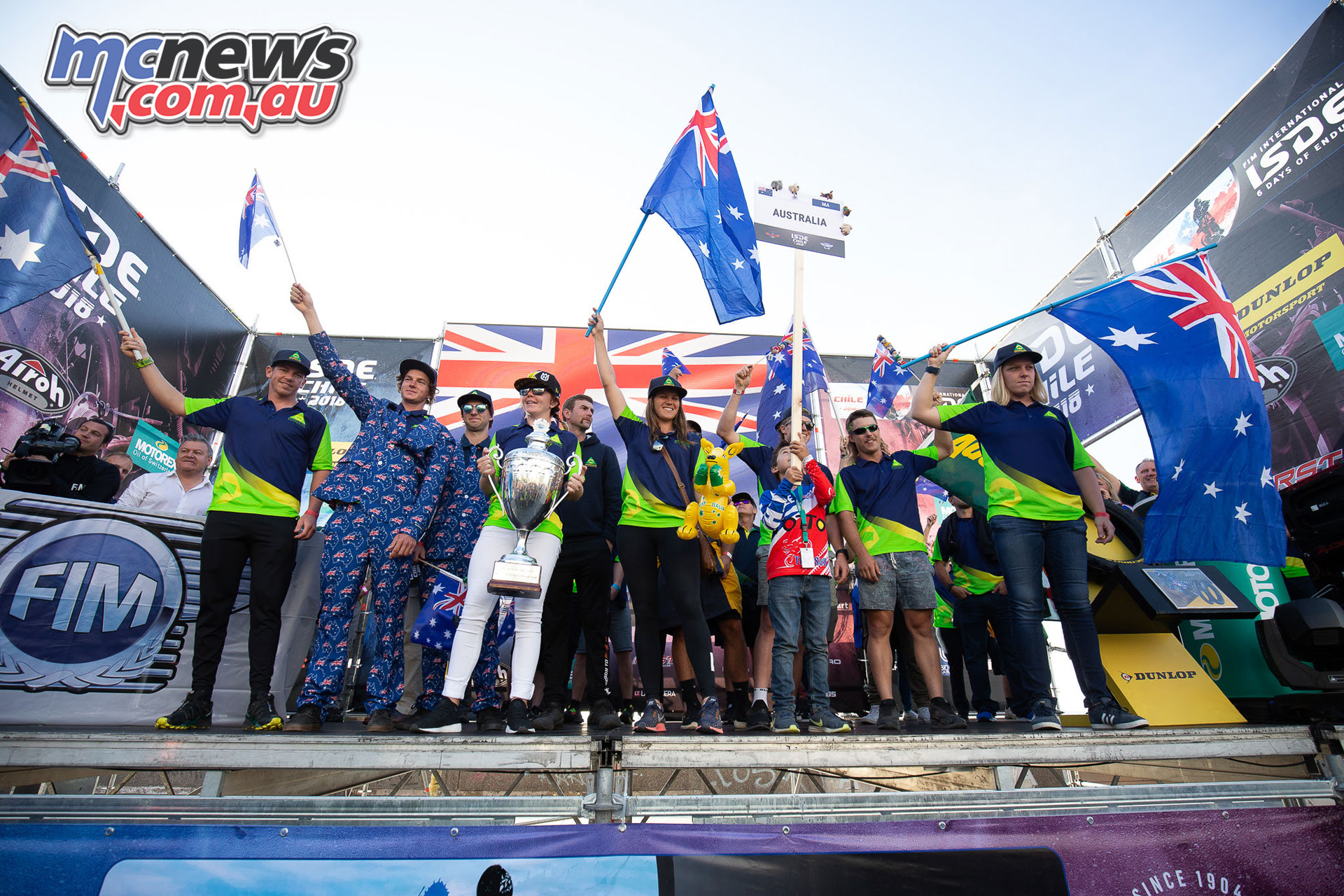 RecoveR Australian ISDE Team Preview JPM