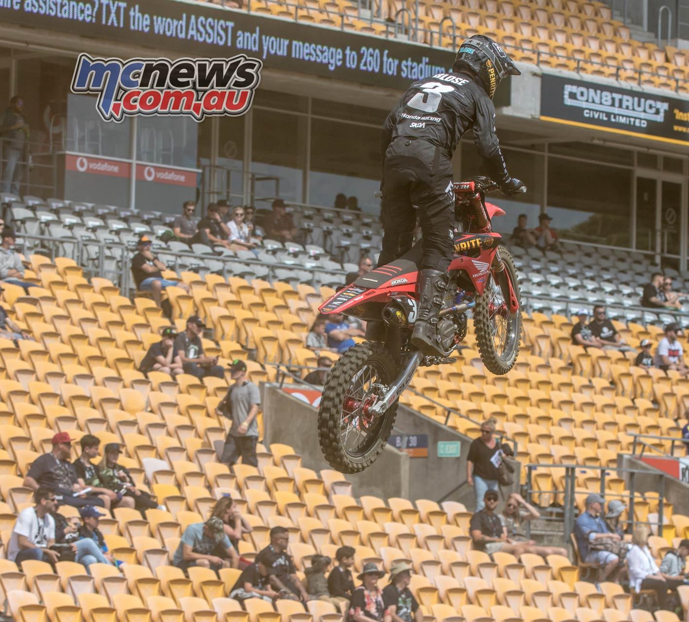 Australian Supercross AUS X Auckland ImgeAM BloseQualB