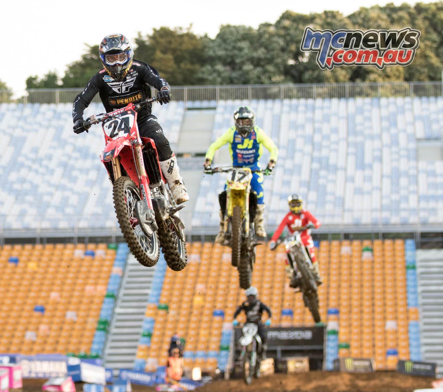 Australian Supercross AUS X Auckland ImgeAM Metcalfeheat