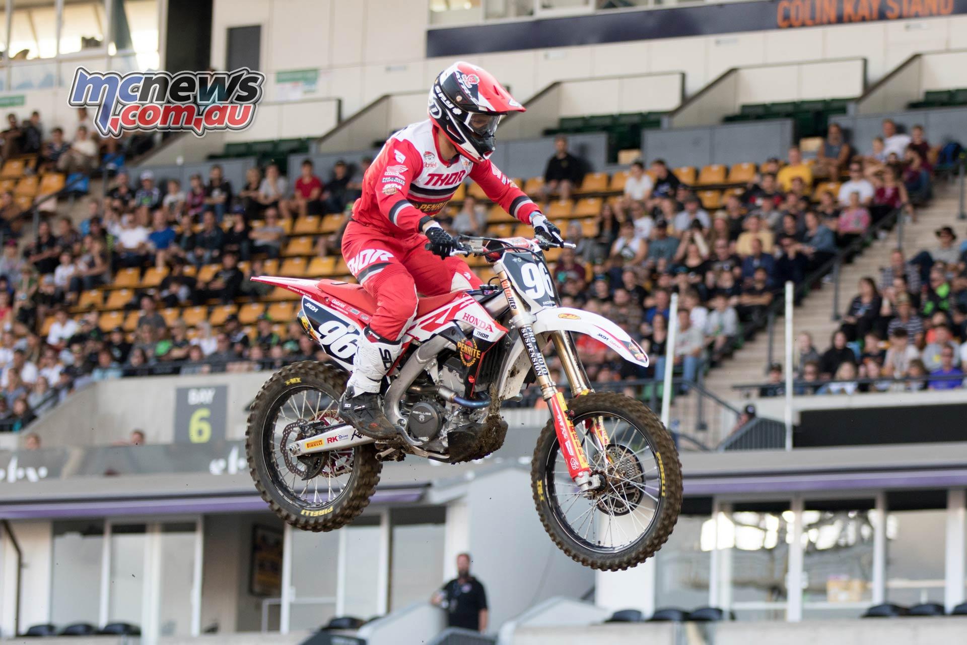 Australian Supercross AUS X Auckland ImgeAM WebsterHeat