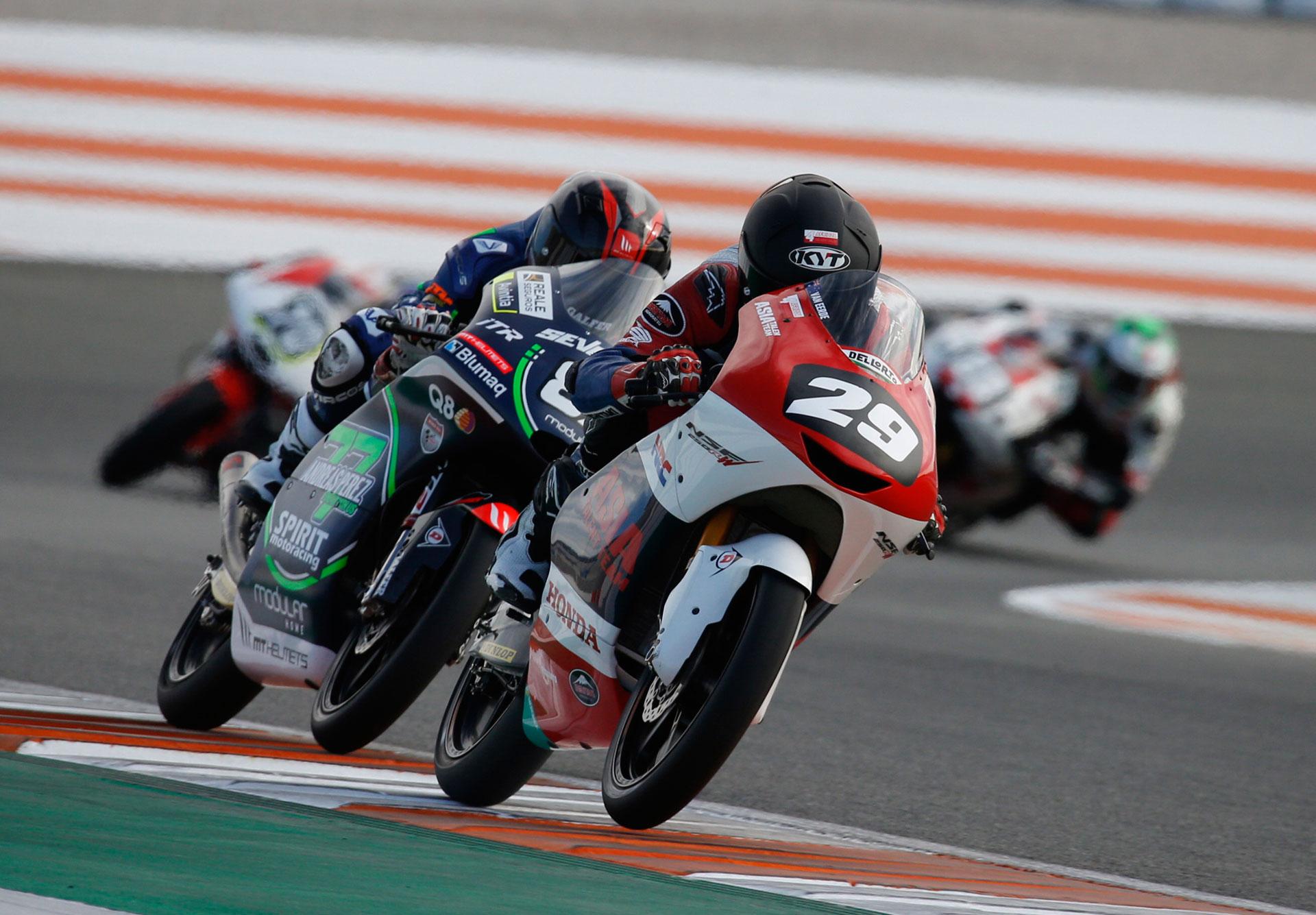 FIM CEV Repsol Valencia Rnd Moto Billy Van Eerde