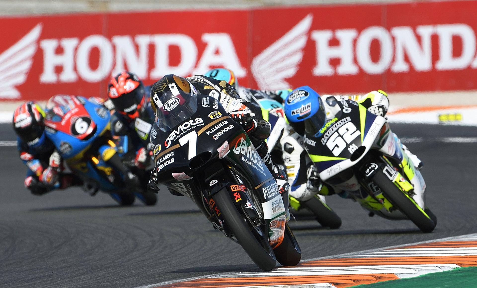 FIM CEV Repsol Valencia Rnd Moto Race Barry Baltus