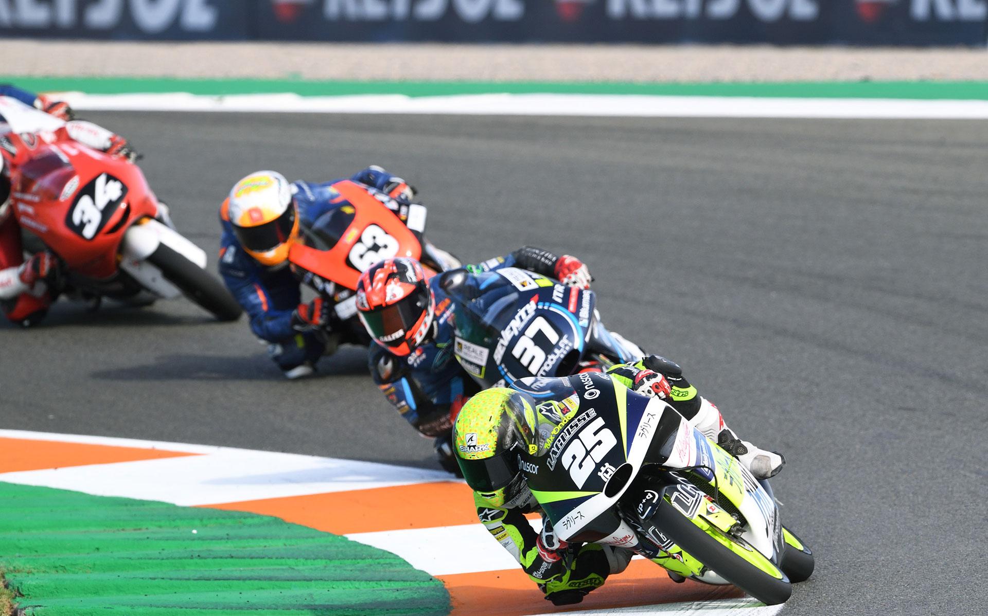 FIM CEV Repsol Valencia Rnd Moto Race Adrian Fernandez