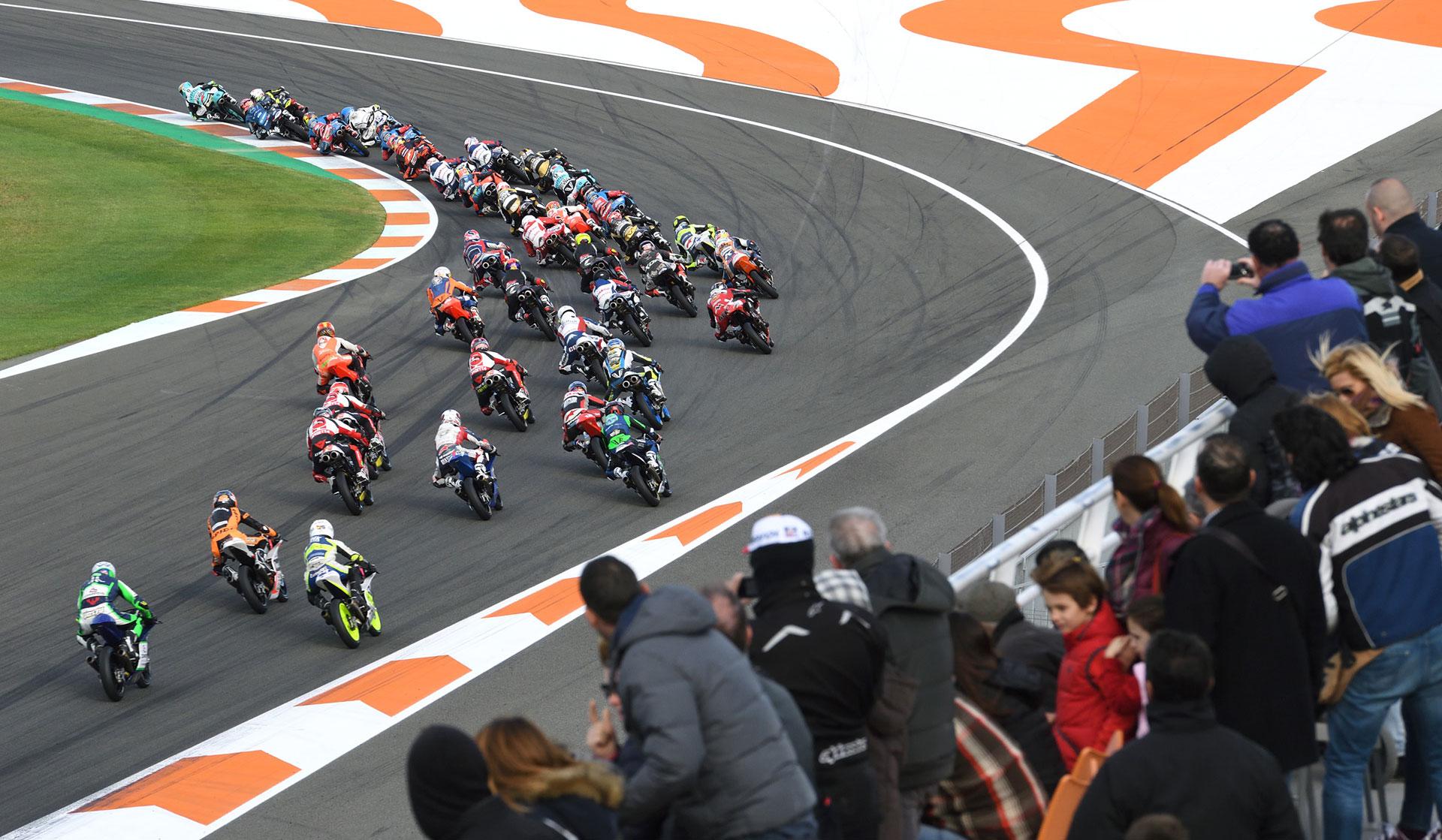 FIM CEV Repsol Valencia Rnd Moto Start