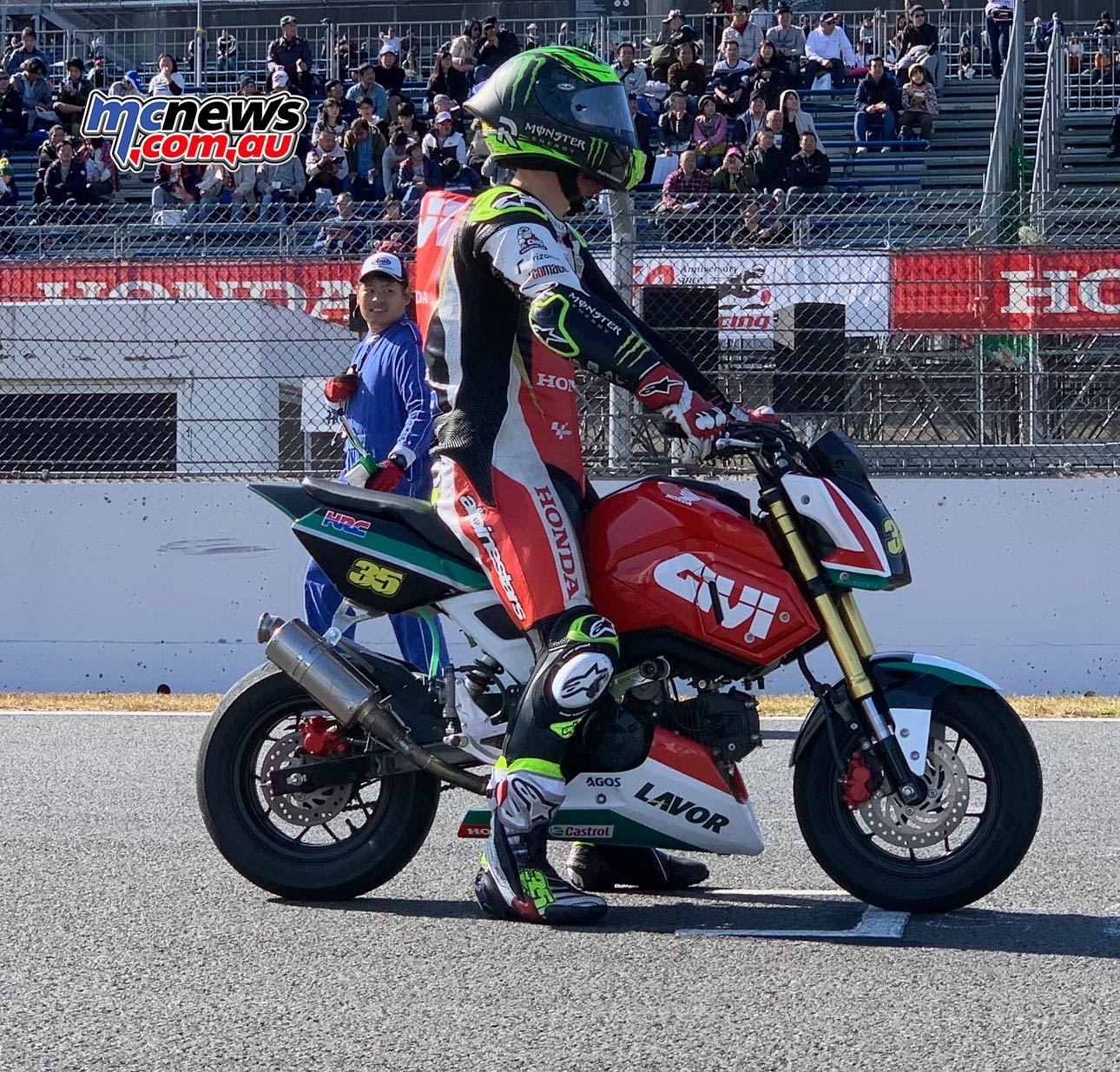 Honda Thanks Day Grom Crutchlow