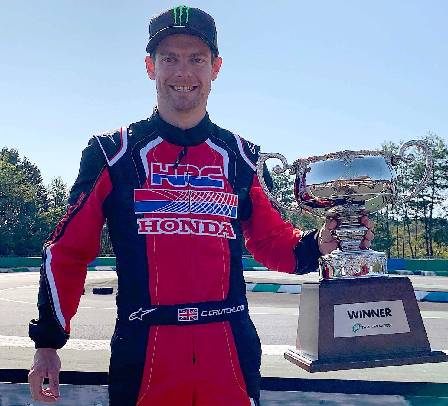 Honda Thanks Day Karts Crutchlow