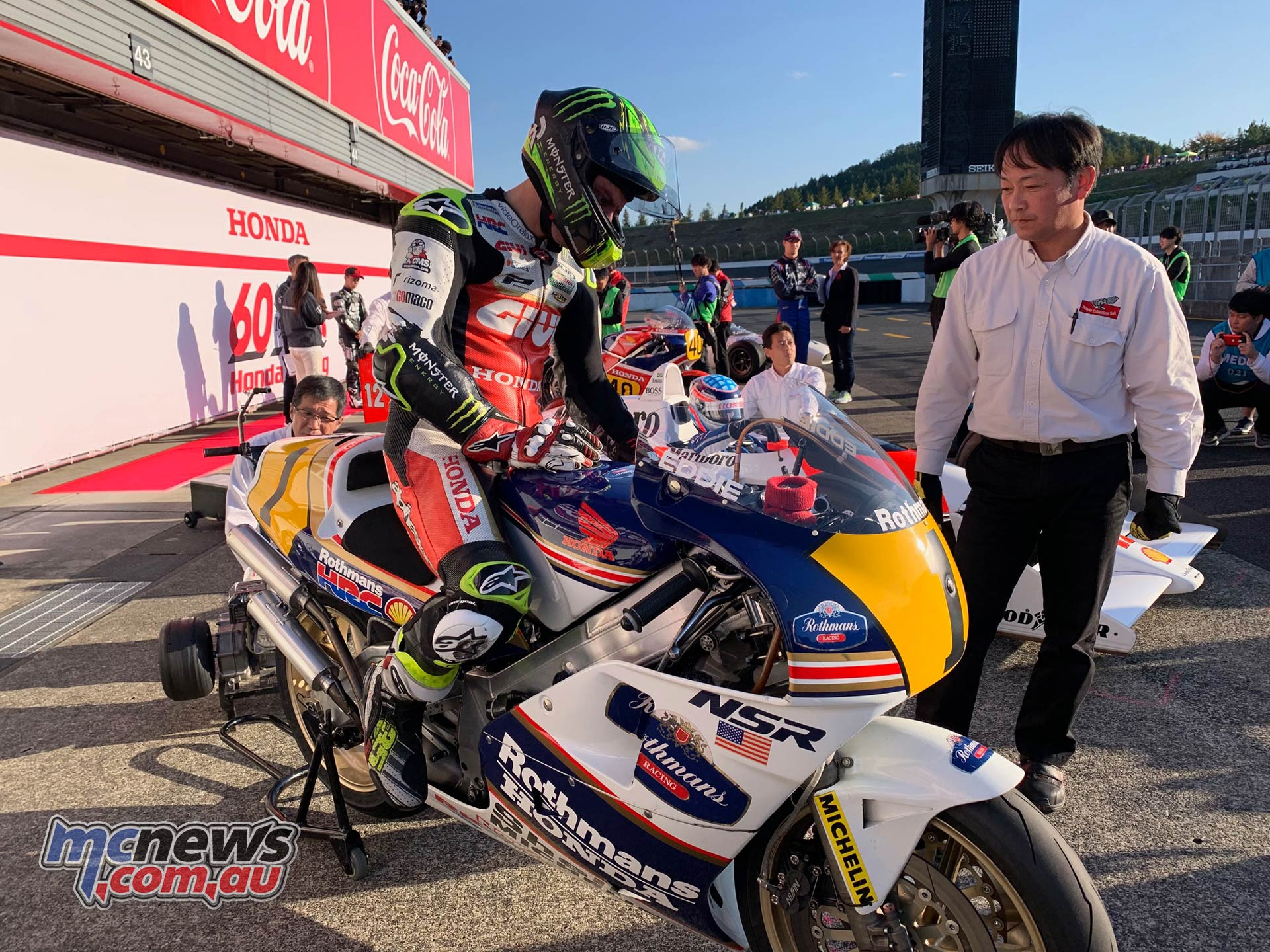 Honda Thanks Day NSR Crutchlow