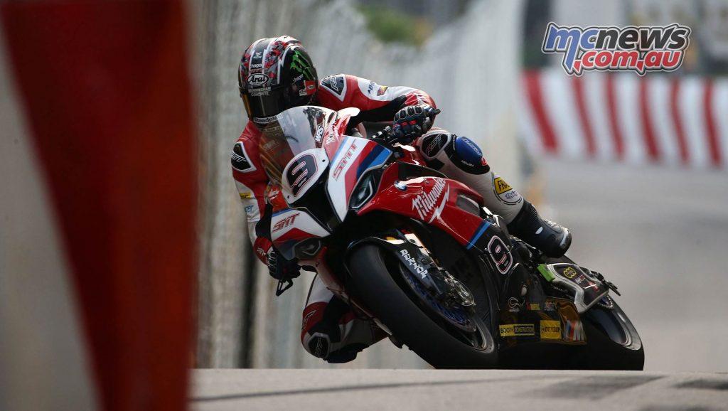 Macau GP Ian Hutchinson